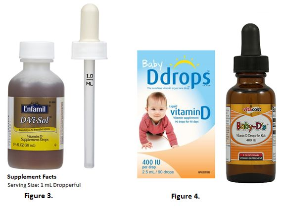 Watch Out For Dosing Errors With Liquid Vitamin D For Infants